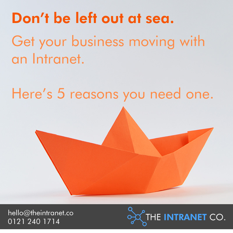 5 Reasons your business needs an Intranet - The Intranet Co.